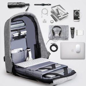Nomad Backpack funciona antirrobo, laptop, usb