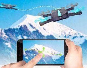 Selfie Drone 7s características, funciona